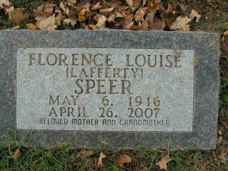 SPEER, FLORENCE LOUISE - Boone County, Arkansas | FLORENCE LOUISE SPEER - Arkansas Gravestone Photos