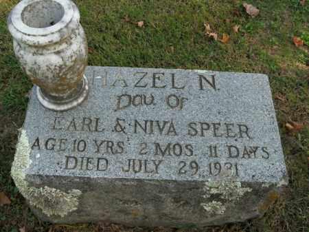 SPEER, HAZEL N. - Boone County, Arkansas | HAZEL N. SPEER - Arkansas Gravestone Photos