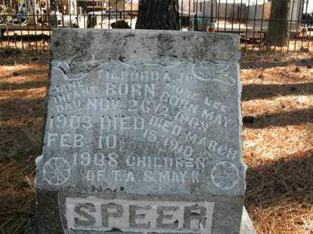 SPEER, JANE - Boone County, Arkansas | JANE SPEER - Arkansas Gravestone Photos