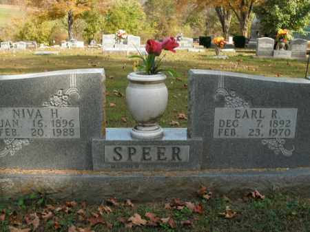 SPEER, EARL R. - Boone County, Arkansas | EARL R. SPEER - Arkansas Gravestone Photos