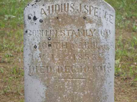 SPENGE, CLAUDIUS J. - Boone County, Arkansas | CLAUDIUS J. SPENGE - Arkansas Gravestone Photos