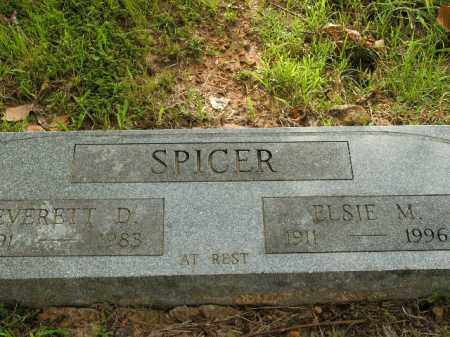 SPICER, EVERETT D. - Boone County, Arkansas | EVERETT D. SPICER - Arkansas Gravestone Photos