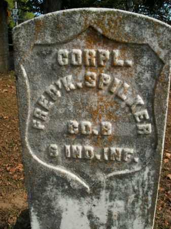 SPILKER  (VETERAN UNION), FREDERICK - Boone County, Arkansas   FREDERICK SPILKER  (VETERAN UNION) - Arkansas Gravestone Photos