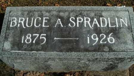 SPRADLIN, BRUCE A. - Boone County, Arkansas | BRUCE A. SPRADLIN - Arkansas Gravestone Photos