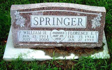 SPRINGER, WILLIAM  H. - Boone County, Arkansas | WILLIAM  H. SPRINGER - Arkansas Gravestone Photos