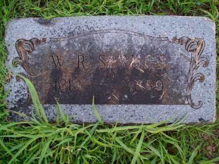 SPRUCE, W.R. - Boone County, Arkansas | W.R. SPRUCE - Arkansas Gravestone Photos