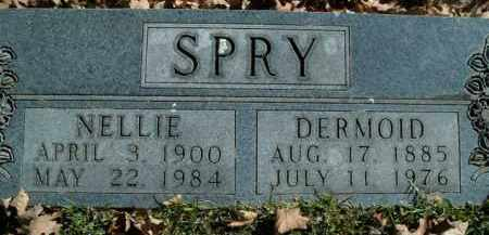 SPRY, DERMOID - Boone County, Arkansas | DERMOID SPRY - Arkansas Gravestone Photos