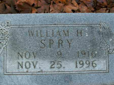 SPRY, WILLIAM H. - Boone County, Arkansas | WILLIAM H. SPRY - Arkansas Gravestone Photos
