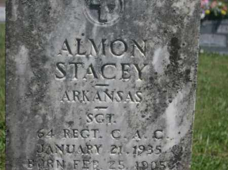 STACEY  (VETERAN), ALMON - Boone County, Arkansas | ALMON STACEY  (VETERAN) - Arkansas Gravestone Photos