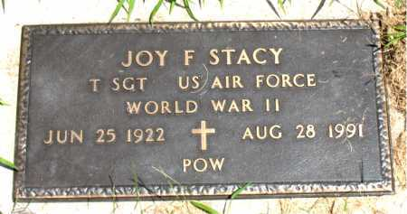 STACY  (VETERAN WWII), JOY F - Boone County, Arkansas | JOY F STACY  (VETERAN WWII) - Arkansas Gravestone Photos