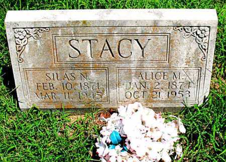 STACY, SILAS N - Boone County, Arkansas | SILAS N STACY - Arkansas Gravestone Photos