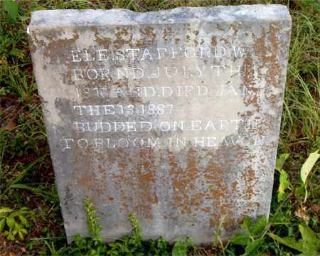 STAFFORD, ELE - Boone County, Arkansas | ELE STAFFORD - Arkansas Gravestone Photos