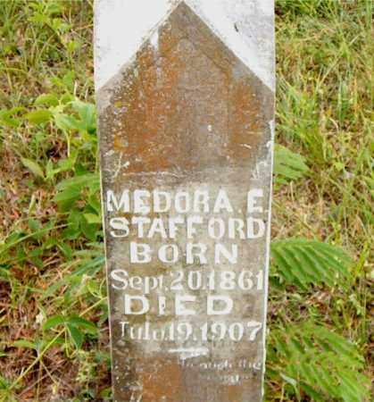 STAFFORD, MEDORA  E. - Boone County, Arkansas | MEDORA  E. STAFFORD - Arkansas Gravestone Photos
