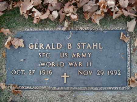 STAHL  (VETERAN WWII), GERALD B - Boone County, Arkansas | GERALD B STAHL  (VETERAN WWII) - Arkansas Gravestone Photos
