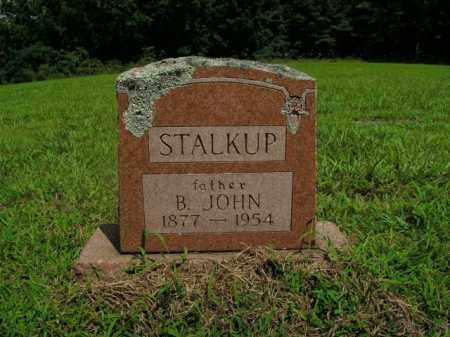 STALKUP, B. JOHN - Boone County, Arkansas | B. JOHN STALKUP - Arkansas Gravestone Photos