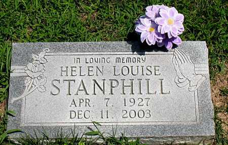 STANPHILL, HELEN LOUISE - Boone County, Arkansas | HELEN LOUISE STANPHILL - Arkansas Gravestone Photos