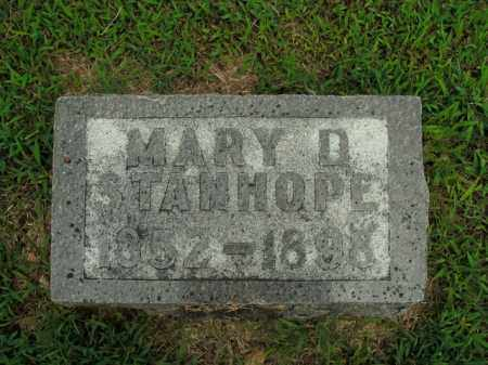 STANHOPE, MARY D. - Boone County, Arkansas | MARY D. STANHOPE - Arkansas Gravestone Photos