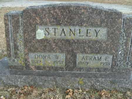 STANLEY, DORA W. - Boone County, Arkansas | DORA W. STANLEY - Arkansas Gravestone Photos