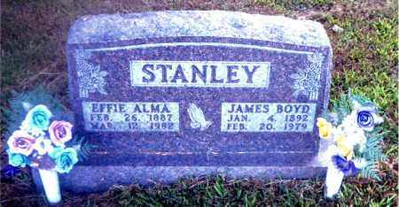 STANLEY, EFFIE ALMA - Boone County, Arkansas | EFFIE ALMA STANLEY - Arkansas Gravestone Photos