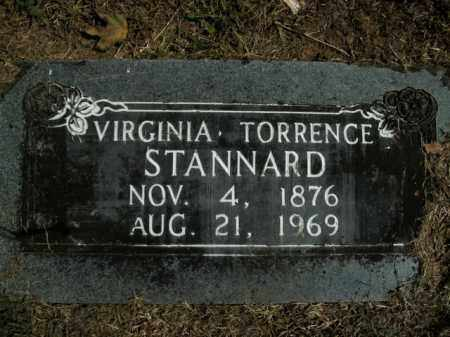 TORRENCE STANNARD, VIRGINIA - Boone County, Arkansas | VIRGINIA TORRENCE STANNARD - Arkansas Gravestone Photos