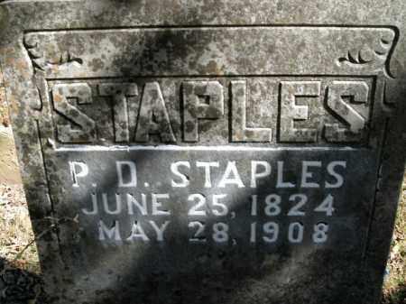 STAPLES, PATRICK D. - Boone County, Arkansas | PATRICK D. STAPLES - Arkansas Gravestone Photos