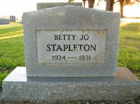STAPLETON, BETTY JO - Boone County, Arkansas | BETTY JO STAPLETON - Arkansas Gravestone Photos