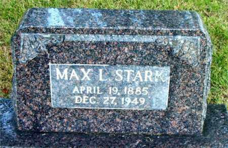 STARK, MAX  L. - Boone County, Arkansas | MAX  L. STARK - Arkansas Gravestone Photos