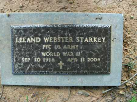 STARKEY  (VETERAN WWII), LELAND WEBSTER - Boone County, Arkansas | LELAND WEBSTER STARKEY  (VETERAN WWII) - Arkansas Gravestone Photos