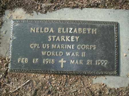 STARKEY  (VETERAN WWII), NELDA ELIZABETH - Boone County, Arkansas | NELDA ELIZABETH STARKEY  (VETERAN WWII) - Arkansas Gravestone Photos