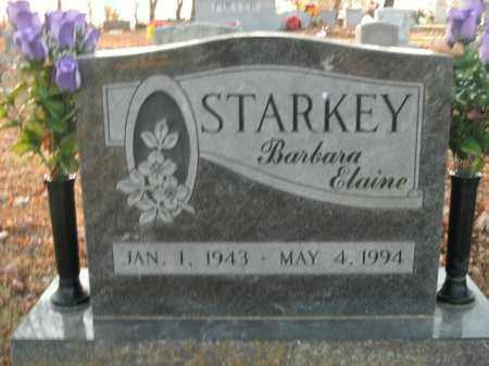STARKEY, BARBARA ELAINE - Boone County, Arkansas | BARBARA ELAINE STARKEY - Arkansas Gravestone Photos