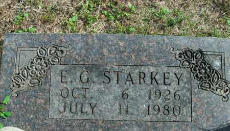 STARKEY, E.G. - Boone County, Arkansas | E.G. STARKEY - Arkansas Gravestone Photos