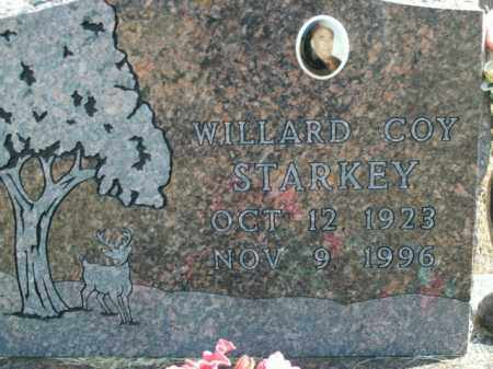 STARKEY, WILLARD COY - Boone County, Arkansas | WILLARD COY STARKEY - Arkansas Gravestone Photos