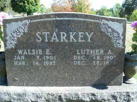 STARKEY, WALSIE E. - Boone County, Arkansas | WALSIE E. STARKEY - Arkansas Gravestone Photos