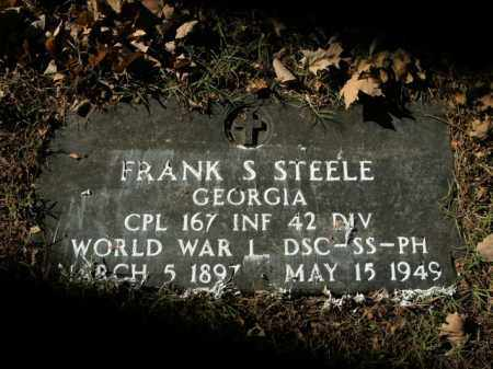 STEELE  (VETERAN WWI), FRANK S - Boone County, Arkansas | FRANK S STEELE  (VETERAN WWI) - Arkansas Gravestone Photos