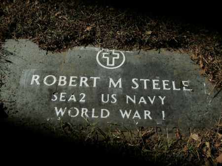 STEELE  (VETERAN WWI), ROBERT M - Boone County, Arkansas | ROBERT M STEELE  (VETERAN WWI) - Arkansas Gravestone Photos