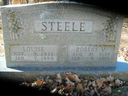 STEELE, LOUISE - Boone County, Arkansas | LOUISE STEELE - Arkansas Gravestone Photos