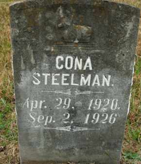 STEELMAN, CONA - Boone County, Arkansas | CONA STEELMAN - Arkansas Gravestone Photos