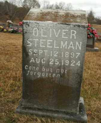STEELMAN, OLIVER - Boone County, Arkansas | OLIVER STEELMAN - Arkansas Gravestone Photos