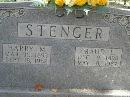 STENGER, MAUD L. - Boone County, Arkansas | MAUD L. STENGER - Arkansas Gravestone Photos