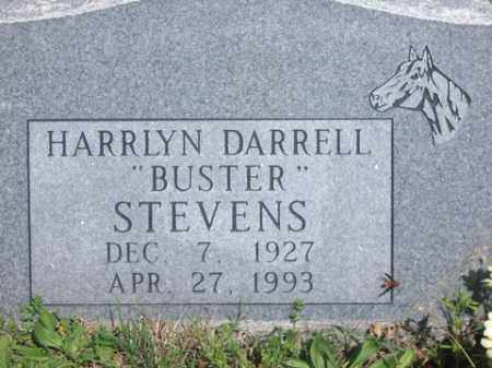 STEVENS, HARRLYN DARRELL - Boone County, Arkansas | HARRLYN DARRELL STEVENS - Arkansas Gravestone Photos