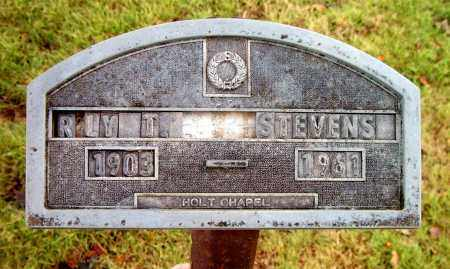 STEVENS, ROY T. - Boone County, Arkansas | ROY T. STEVENS - Arkansas Gravestone Photos