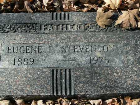 STEVENSON, EUGENE F. - Boone County, Arkansas | EUGENE F. STEVENSON - Arkansas Gravestone Photos
