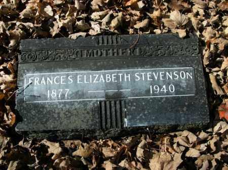 STEVENSON, FRANCES ELIZABETH - Boone County, Arkansas | FRANCES ELIZABETH STEVENSON - Arkansas Gravestone Photos