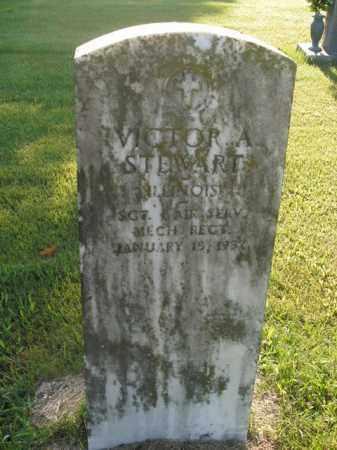 STEWART  (VETERAN), VICTOR A - Boone County, Arkansas | VICTOR A STEWART  (VETERAN) - Arkansas Gravestone Photos