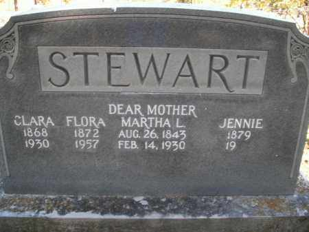 STEWART, JENNIE - Boone County, Arkansas | JENNIE STEWART - Arkansas Gravestone Photos