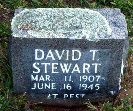 STEWART, DAVID  T. - Boone County, Arkansas | DAVID  T. STEWART - Arkansas Gravestone Photos