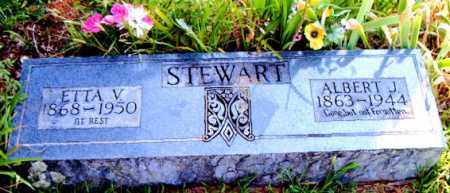 STEWART, ALBERT J. - Boone County, Arkansas | ALBERT J. STEWART - Arkansas Gravestone Photos