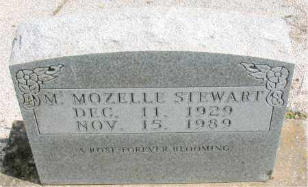 STEWART, MINNIE MOZELLE - Boone County, Arkansas | MINNIE MOZELLE STEWART - Arkansas Gravestone Photos