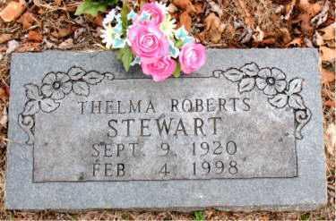 ROBERTS STEWART, THELMA - Boone County, Arkansas | THELMA ROBERTS STEWART - Arkansas Gravestone Photos