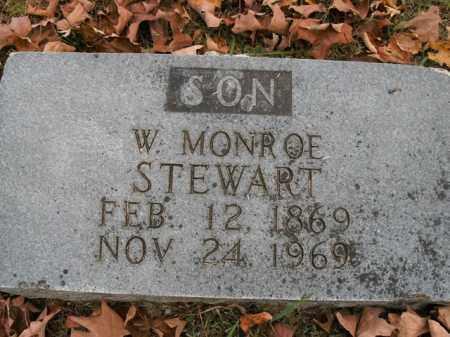 STEWART, W. MONROE - Boone County, Arkansas | W. MONROE STEWART - Arkansas Gravestone Photos